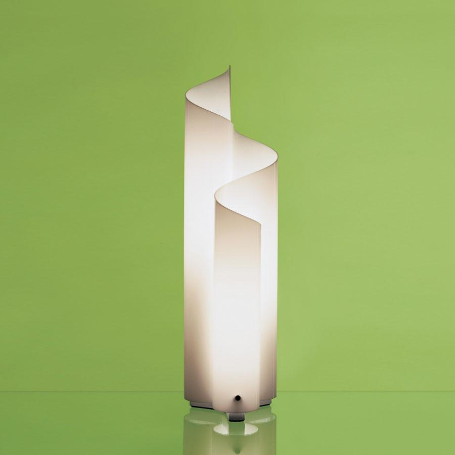 Mezzachimera lámpara of Floor Lamp ø22x77cm 3x60w E27 opal