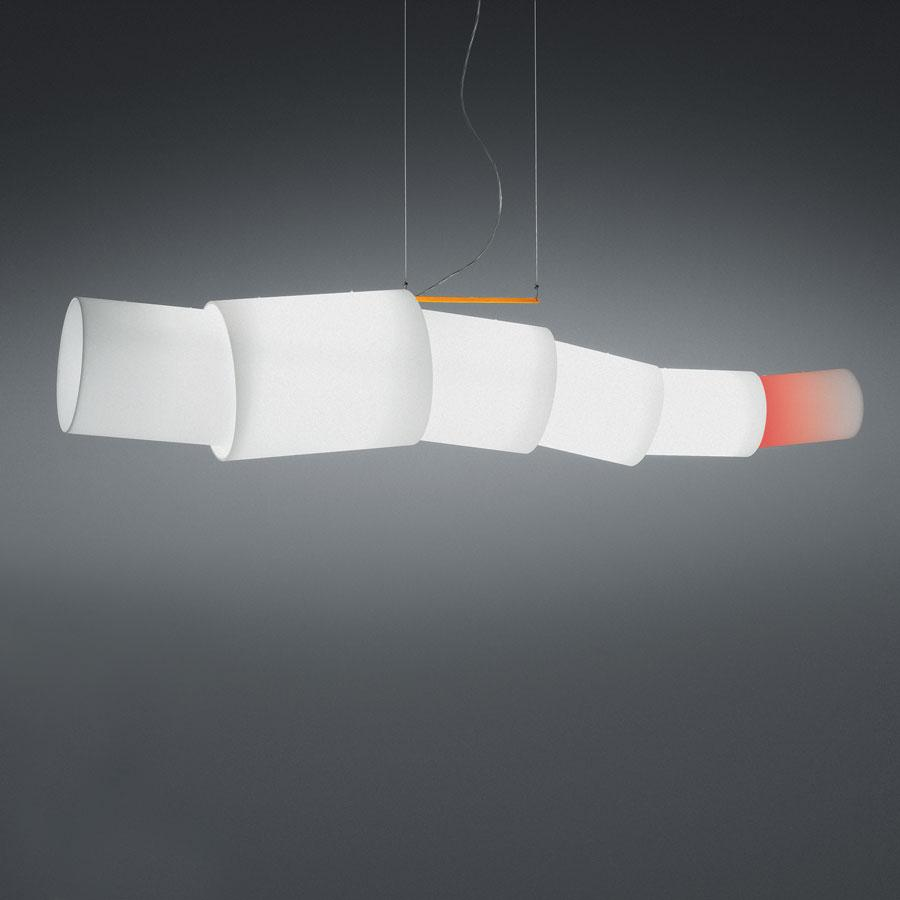 Noto Fluorescent Pendant lamp adjustable