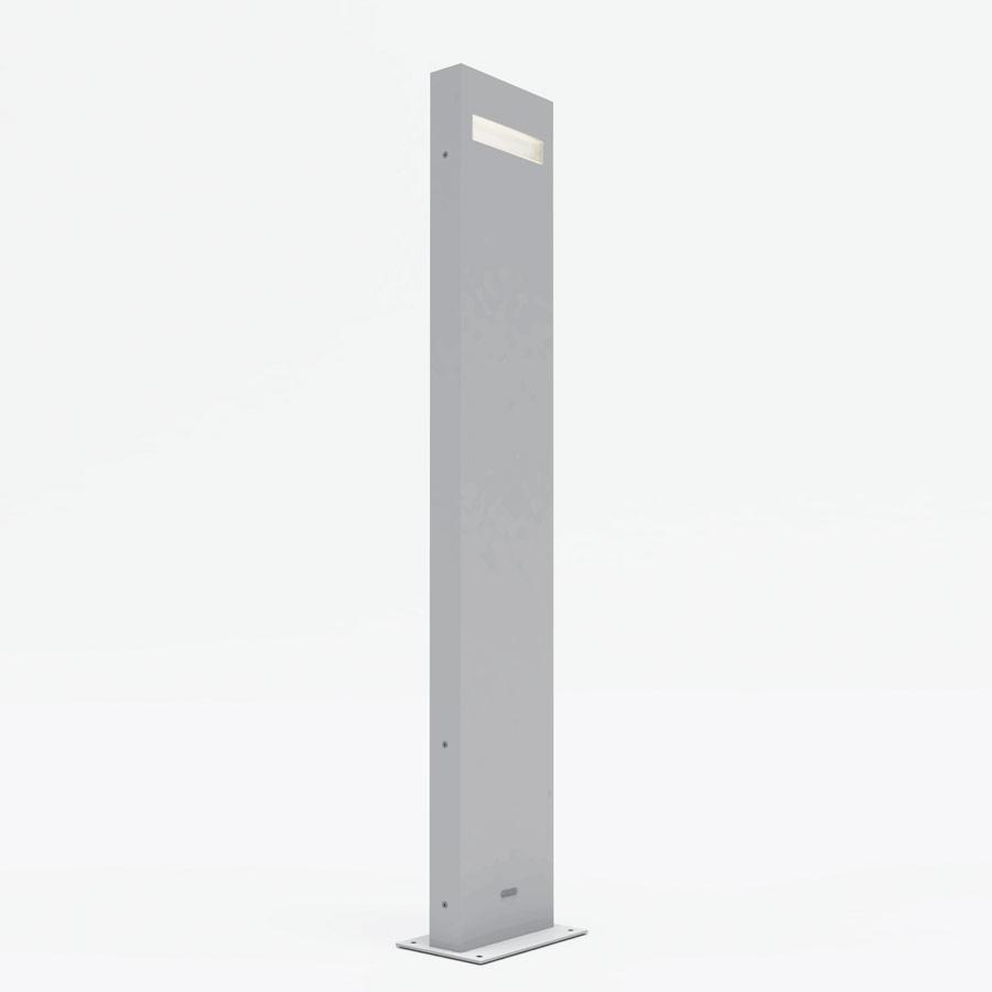 Nuda 100 Floor lamp 2 Lights 15w LED IP65 Light grey