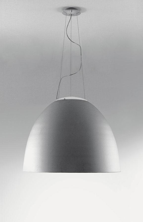 Nur 1618 Lampada a sospensione ø90cm R7s 1x400w Grigio Alluminio Anodizzato