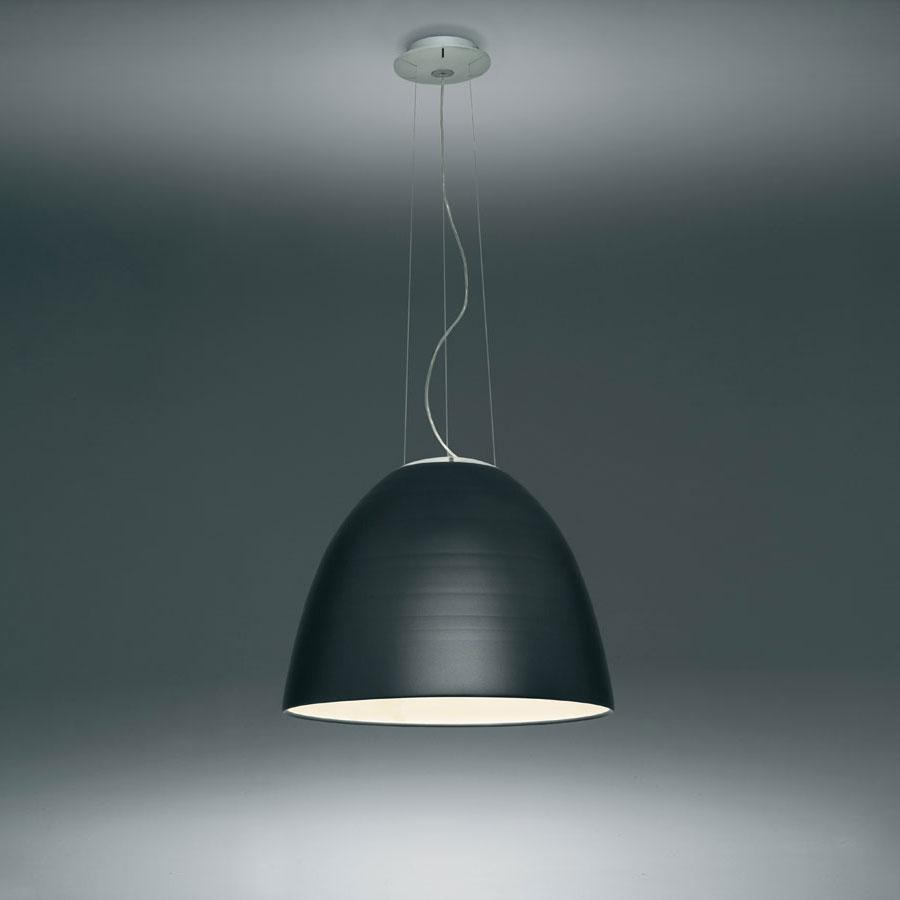 Nur Pendant lamp ø55cm E27 1x205w Grey anthracite