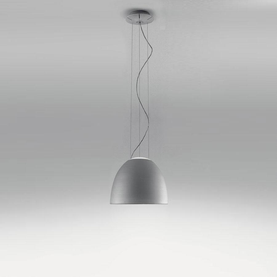 Nur Mini Pendant lamp ø36cm R7s 1x160w Anodized grey aluminium