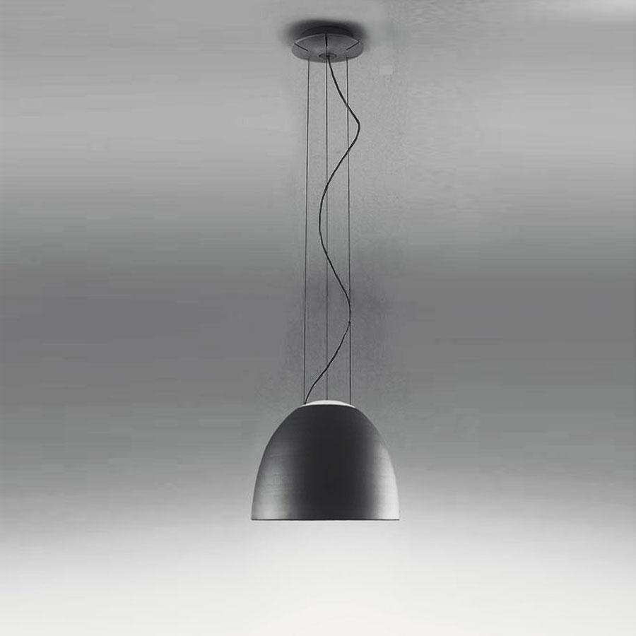 Nur Mini Lámpara Colgante ø36cm R7s 1x160w gris Antracita