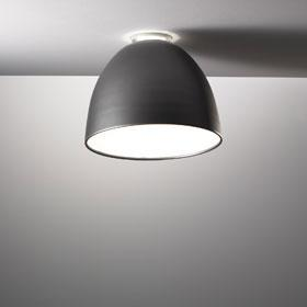 Nur Mini Ceiling lamp ø36cm E27 1x150w Grey anthracite
