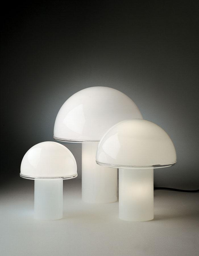 Onfale Big table lamp White