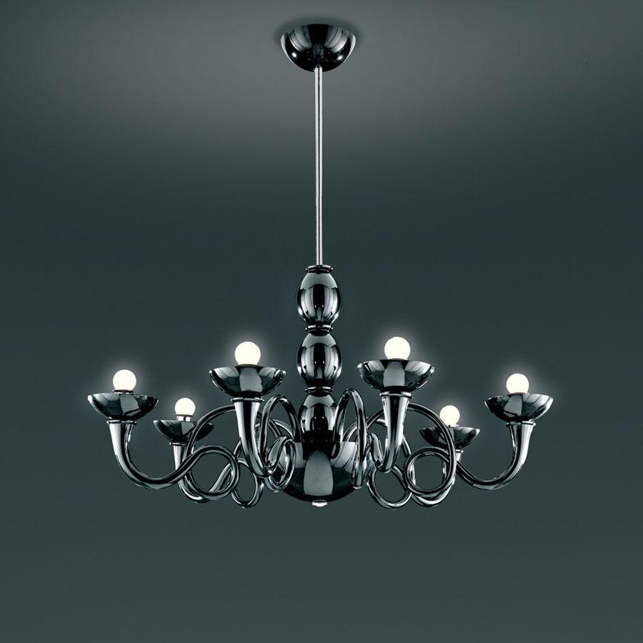 Pantalica Pendant lamp Black