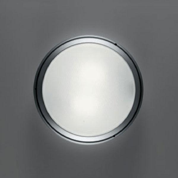 Pantarei 190 Diffusore en Vetro Sabbiado fluo corpo c/Grigio Argento