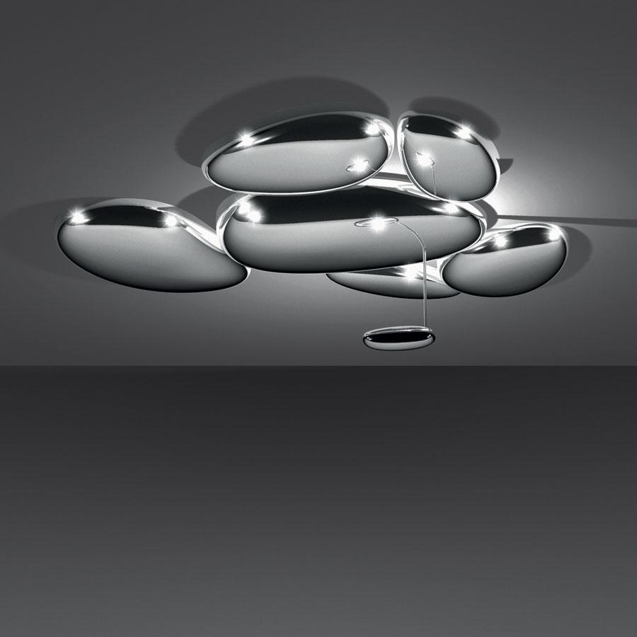 Skydro Plafon Modulo 1x160w halogen R7s Chrome