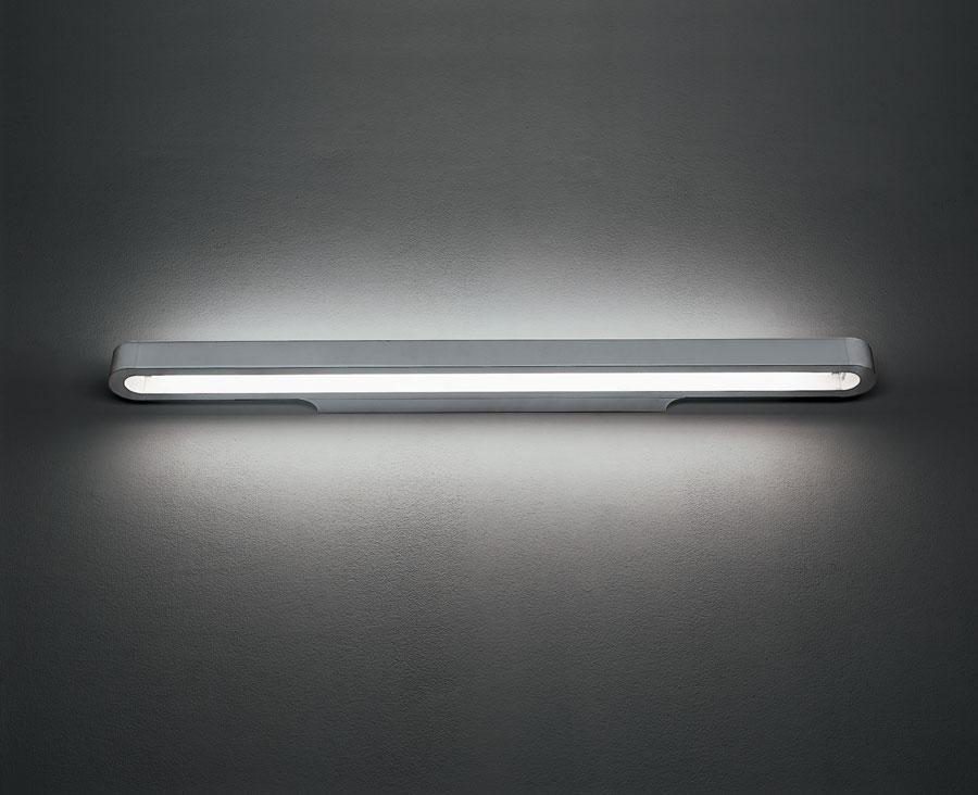 Talo 90 Aplique 1x39w G5 Fluorescente Lineal gris Plata