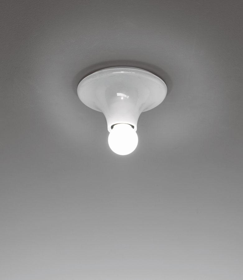 Teti Wall lamp ø14x7cm E27 30W White