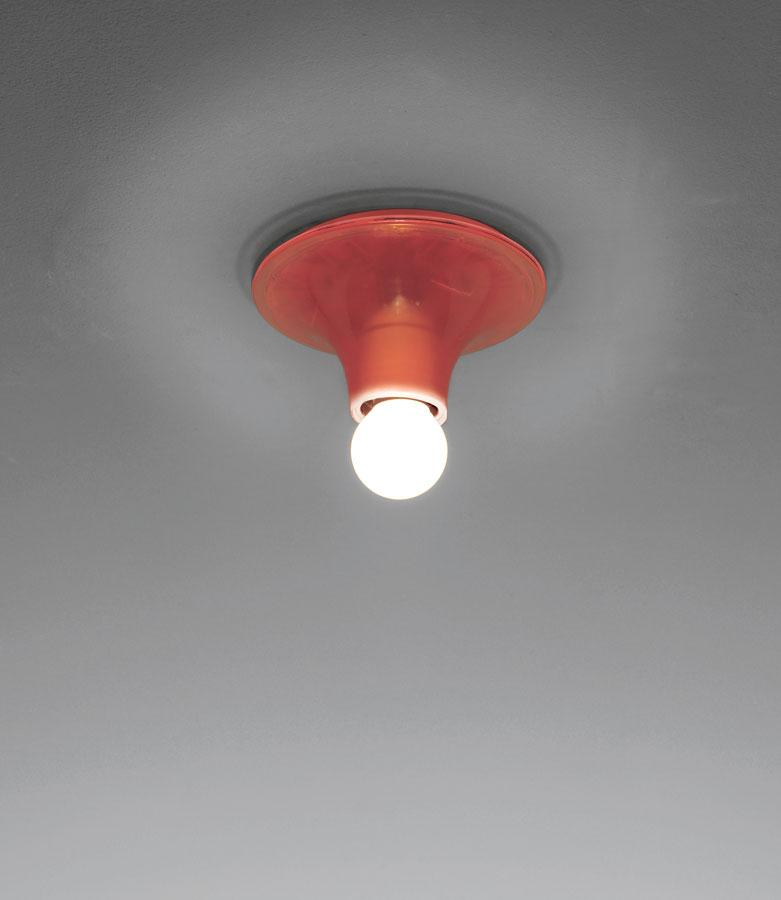 Teti luz de parede ø14x7cm E27 30W Laranja