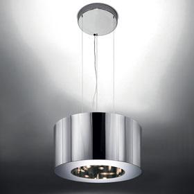 Tian Xia 500 Lámpara Colgante 1x42w Gx24q 4 directos + 2x42w Gx24q 4 indirectos