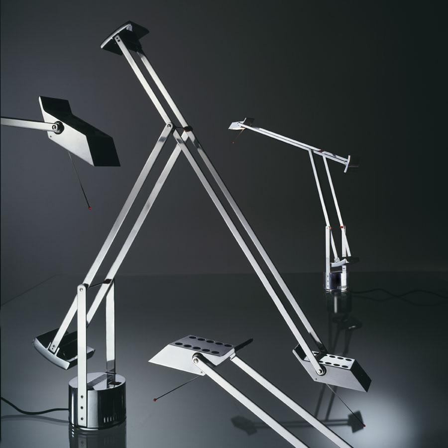 Tizio X30 Sobremesa Gy6.35 1x50w Aluminio pulido