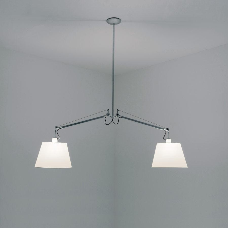 Tolomeo Swingarm Sospensione (only structure) without Diffusers - Aluminium