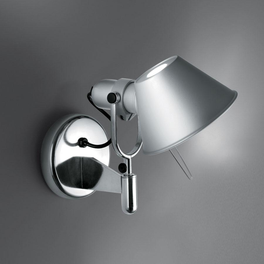 Tolomeo Faretto LED con interruptor Aluminio