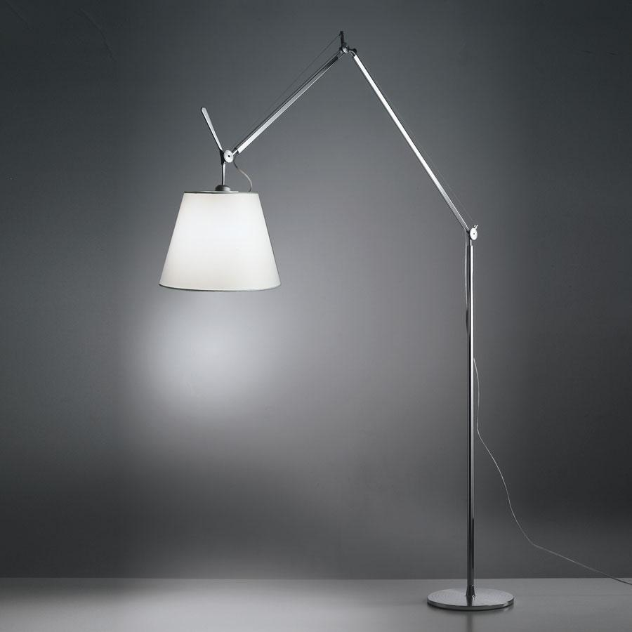 Tolomeo Mega (solo Structure) without Diffuser halógena E27 1x150w intensity regulator - Aluminium