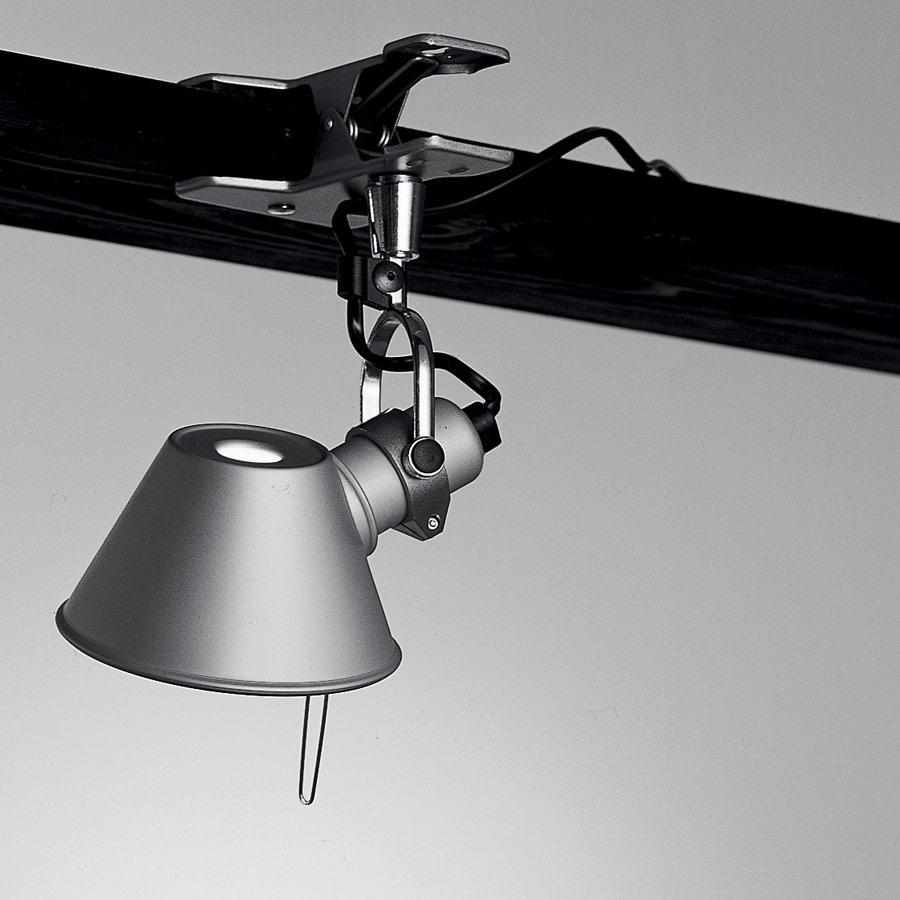 Tolomeo Micro Pinza halógena 1x46w E14 - Grey anonizado