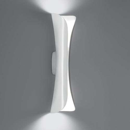 Cadmo Wall Lamp LED 2x32w white/white