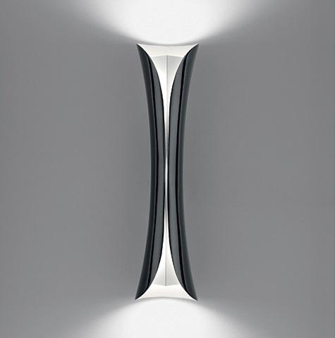 Cadmo Wall Lamp LED 2x32w black/white