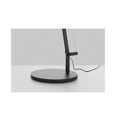 Demetra (Accessory) base and Stand of Floor Lamp - Titanium