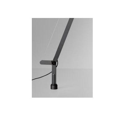 Demetra (accesorio) Soporte fijo para mesa - Titanio