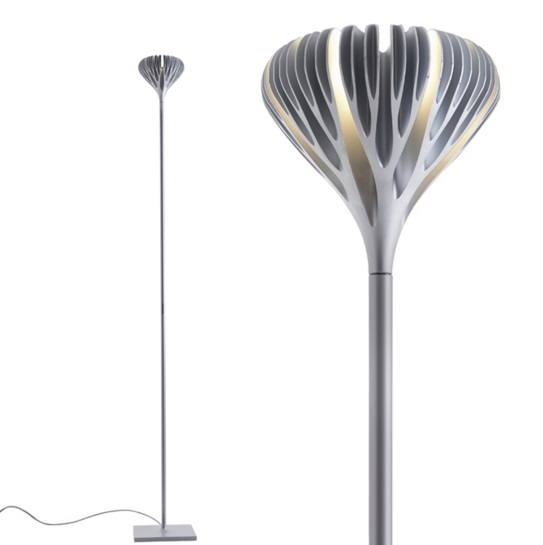 Florensis Floor lamp LED 44.5w Grey aluminium