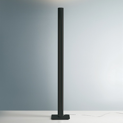 Ilio Lámpara de Pie Ø 9cm LED 43.5W Negro