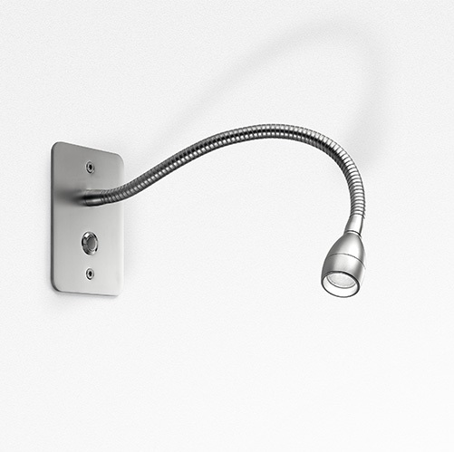 Jet Recessed switch Aluminium 10° 3000K
