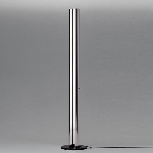 Megaron Terra lampe de Lampadaire Aluminium Anodisé lucido