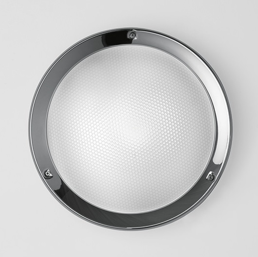 Niki Applique/soffito 312 LED + RILEV Vetro Satin 4000k