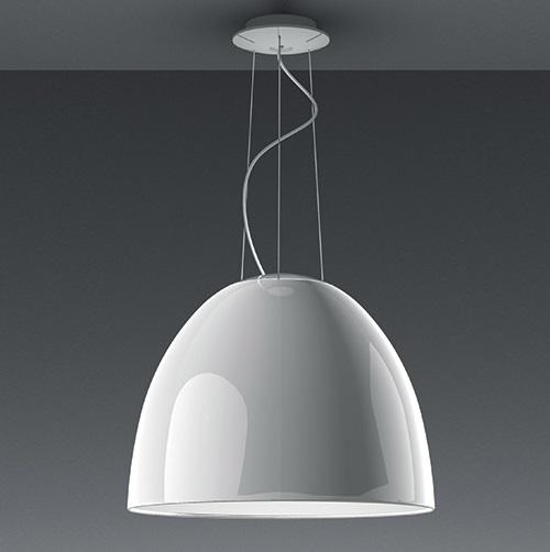 Nur Gloss LED Pendant lamp White