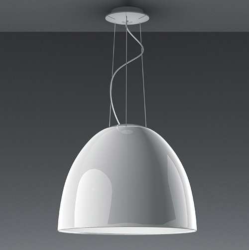 Nur Mini Pendant lamp LED Grey anthracite