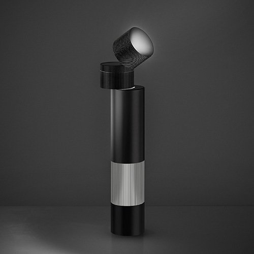 Objective Sobremesa LED negro