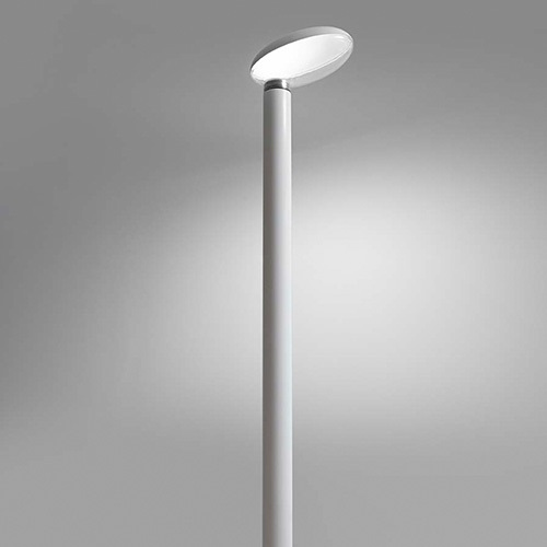 Poto Streetlight Outdoor body and cubierta white matt Diffuser trasparente 45W LED - 3000K