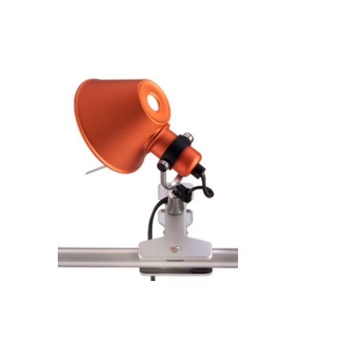 Tolomeo Micro Halogen Clip 1x46w E14 - Orange