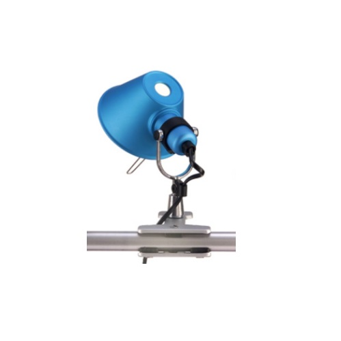 Tolomeo Micro Pinza halógena 1x46w E14 - turquoise