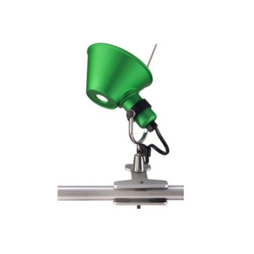 Tolomeo Micro pinza halógena 1x46w E14 - Verde