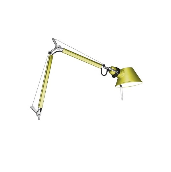 Tolomeo Micro (only structure) Halogen E14 1x46w - Anodized yellow