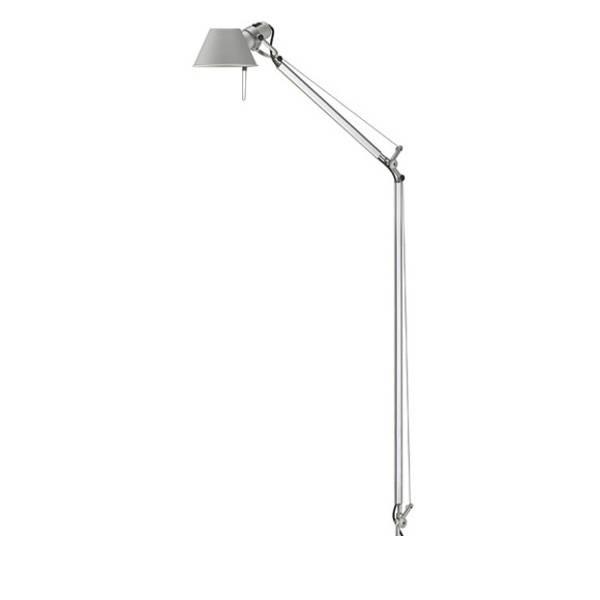 Tolomeo Lettura (nur Struktur) Halogenlampe E27 1x77w - Aluminium
