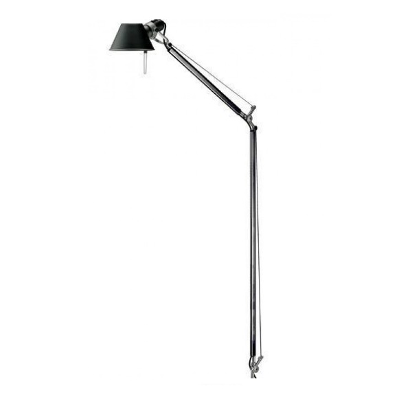 Tolomeo Letture (only structure) LED 10w - Black