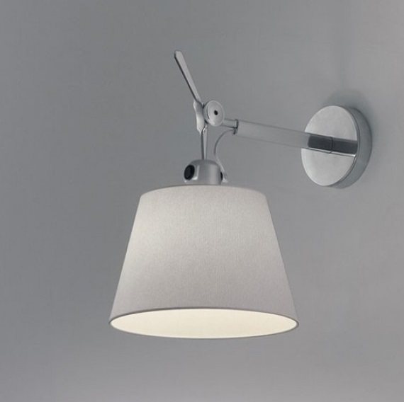 Tolomeo Wall Lamp D32 (only structure) Halogen 1x150w E27 max.