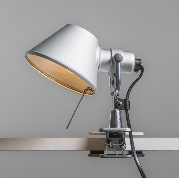 Tolomeo Pinza Applique LED - Aluminium