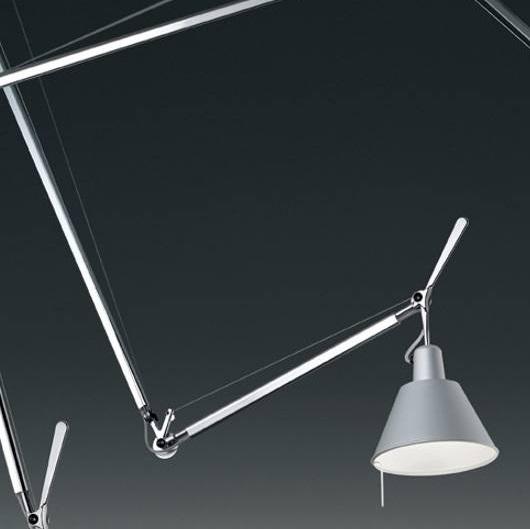 Tolomeo suspensión descentralizada (accesorio) Difusor - Aluminio
