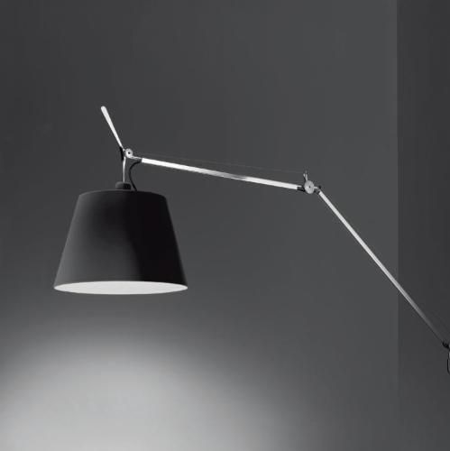 Tolomeo Mega (solo Structure) without Diffuser halógena E27 1x150w intensity regulator - Black