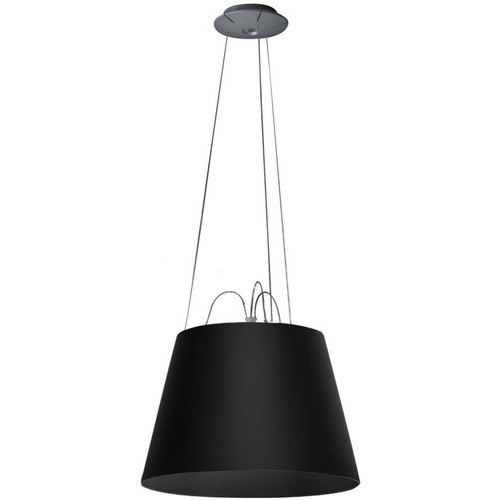 Tolomeo Mega Sospensione (only structure) without Diffuser - Black