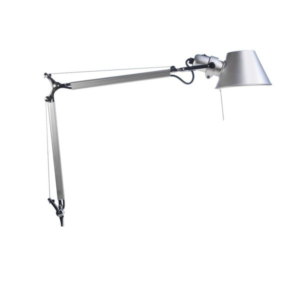 Tolomeo (only structure) LED 10w with dimmer - Aluminium