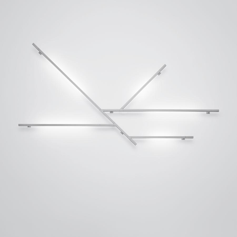 Kao Wall lamp/ceiling lamp Kit F T16 G5 3x54w + 2x24w white