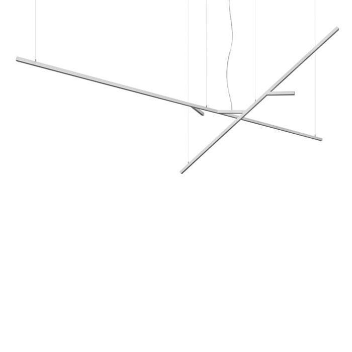Kao Luminaria Colgante Kit a T16 G5 2x24w + 2x54w blanco
