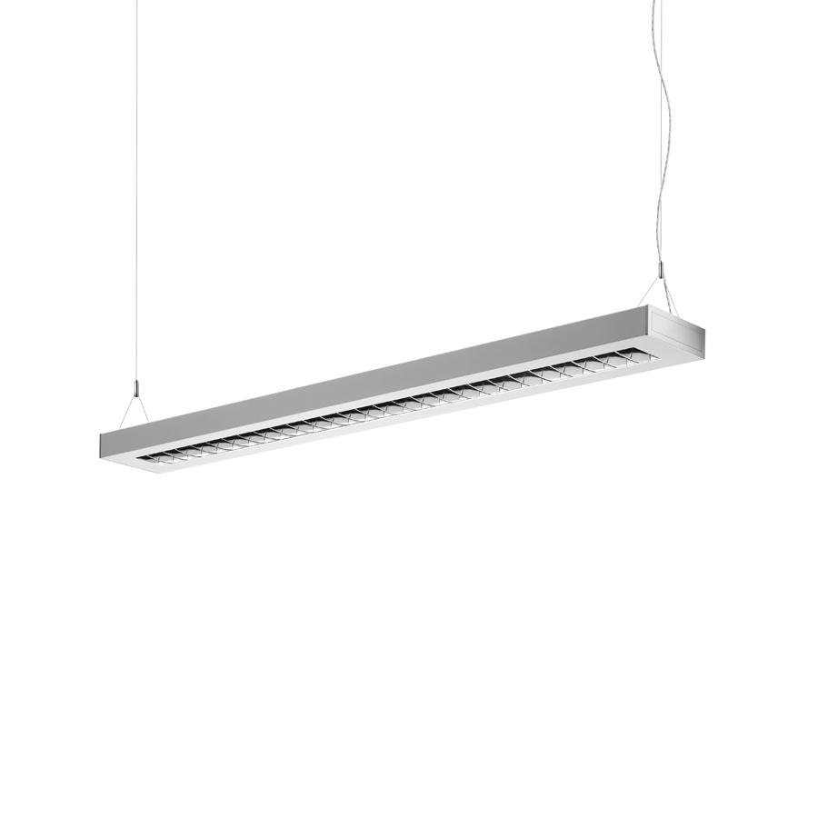 Nota Bene Colgante Independiente T16 G5 1x28w no regulable 1234mm gris