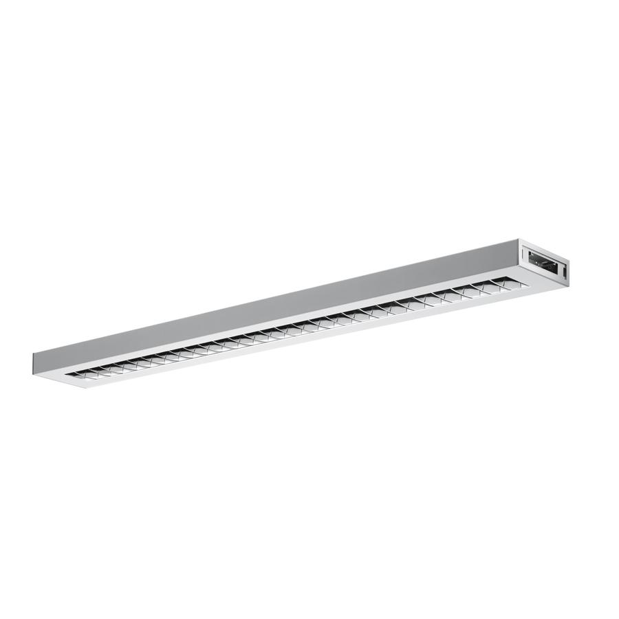 Nota Bene Sistema Modular alimentado T16 G5 2x28w no regulable 1234mm gris